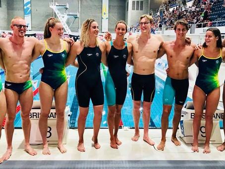 TeamAUS Swimwear - Commonwealth Games 2018