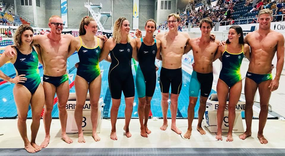 TeamAUS Swimwear Commonwealth Games 2018