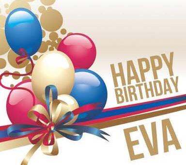 Happy Birthday Eva!