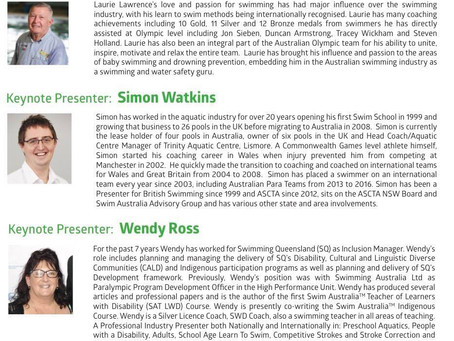 Yes, that's right! Our very ownSimon Watkinsis one of the keynote presenters along with Wendy Ross