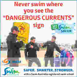 dangerous currents sign