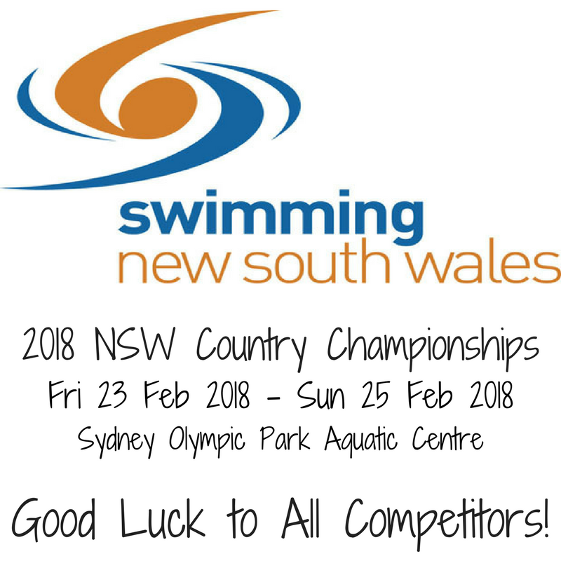 swimming nsw country championships