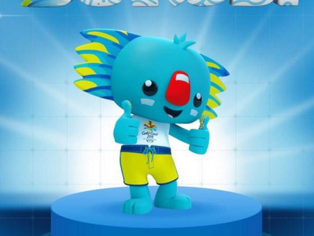 Did Borobi visit Wales as part of the Commonwealth Games tour?
