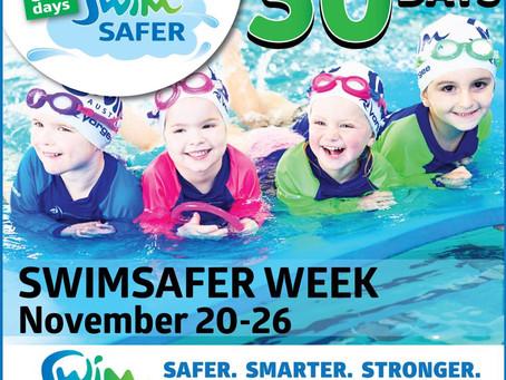 Swim Australia - 30 days until SwimSAFER Week