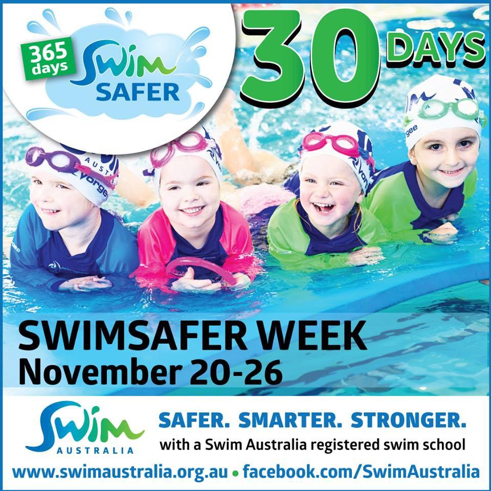 Swim Australia SwimSAFER week - 30 days