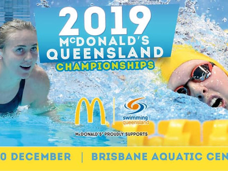 2019 NSW Senior State Age Championships and the 2019 McDonald's Queensland Championships