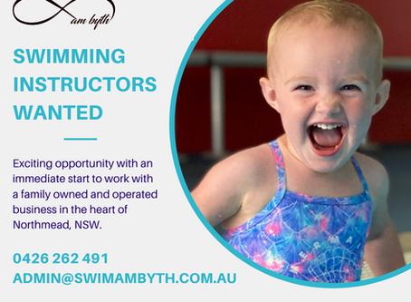 Swimming Instructor Wanted: Swim am byth - Northmead