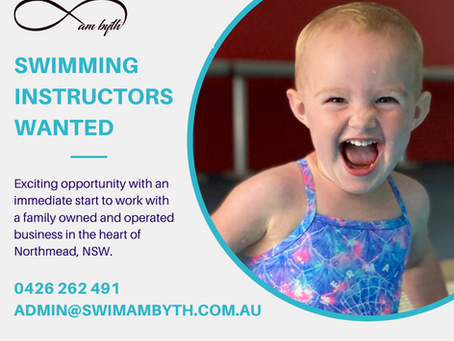 Swimming Instructor Wanted: Swim am byth - Northmead