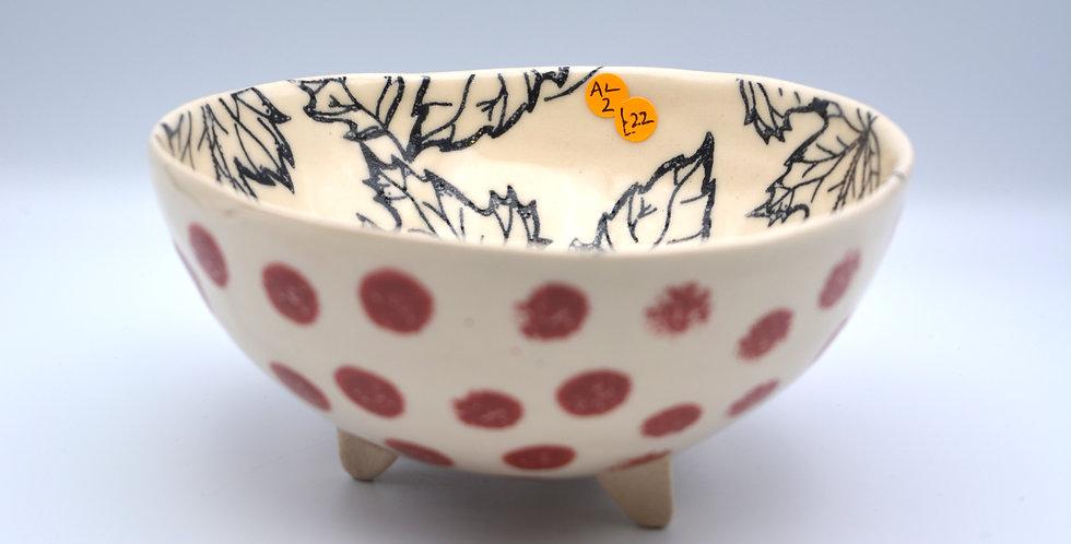 Polka Dot Bowl 1