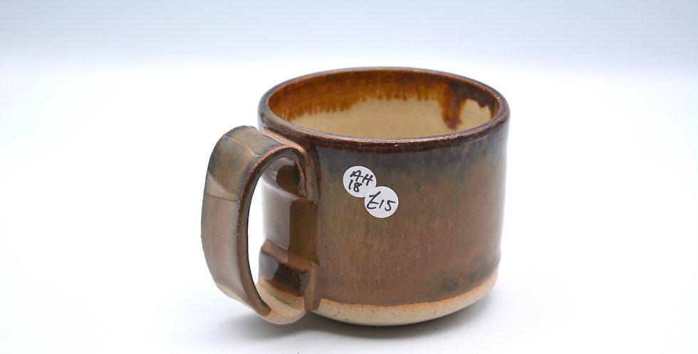 Short Slab Handle Mug