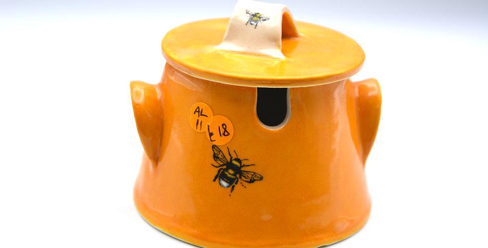 Honeycomb Sugar Pot