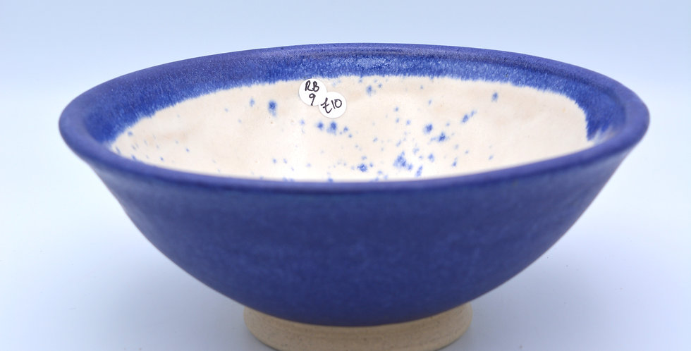 Cobalt/White bowl