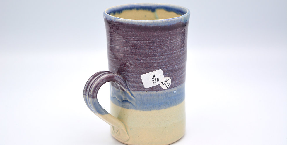 Layered Purple Mug 12