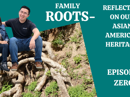 """""""Family Roots""""- A Mother and Son Podcast Debut."""
