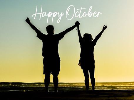 Happy October! The month of falling forward!