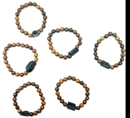 Grounding Bracelet (Black Tourmaline)