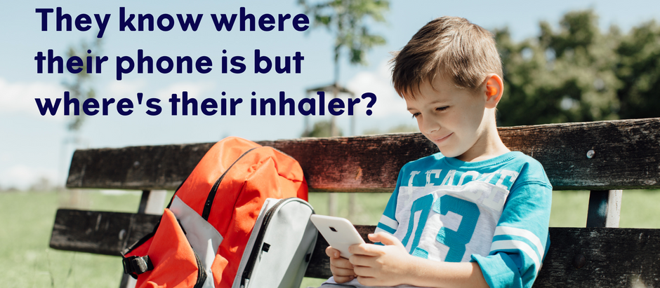 Does Your Child Know Where Their Blue  Asthma Inhaler Is Right Now?
