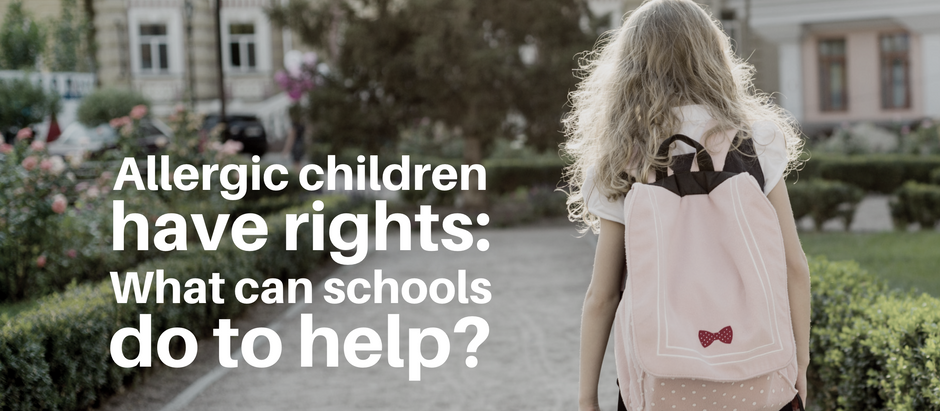 Allergic children have rights: what can schools do to help?