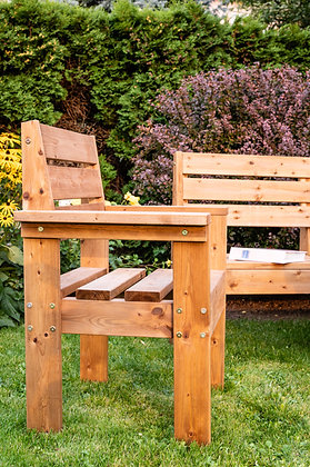 Cubic Single Garden Chair