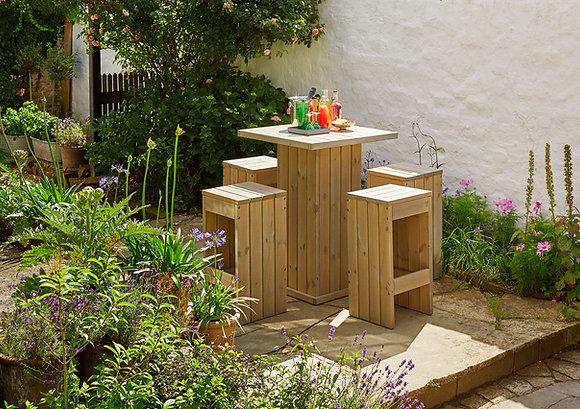 Garden Bar Table Set