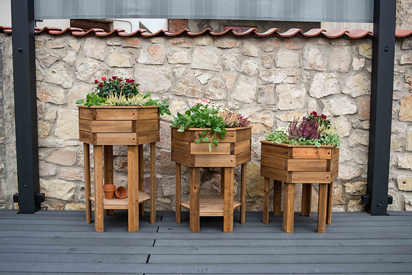 Hexagonal Raised Planter