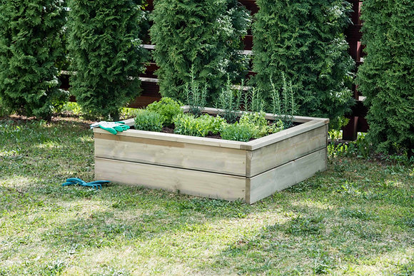 1m Square Vegetable Bed