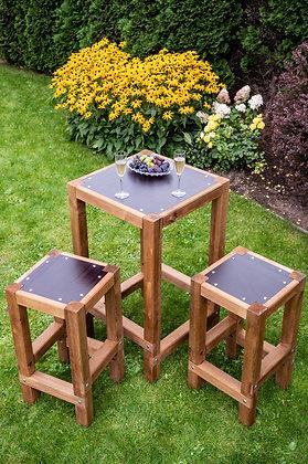 Dārza Bāra Galda un Krēslu Komplekts