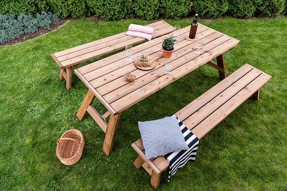 Foldable Garden Picnic Table