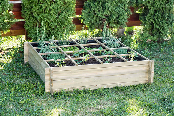 16 Section Raised Bed