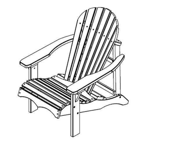 EKJU Relax Chair sketch