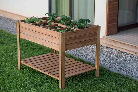 Eight Section Raised Planter