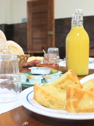 O nosso pequeno-almoço