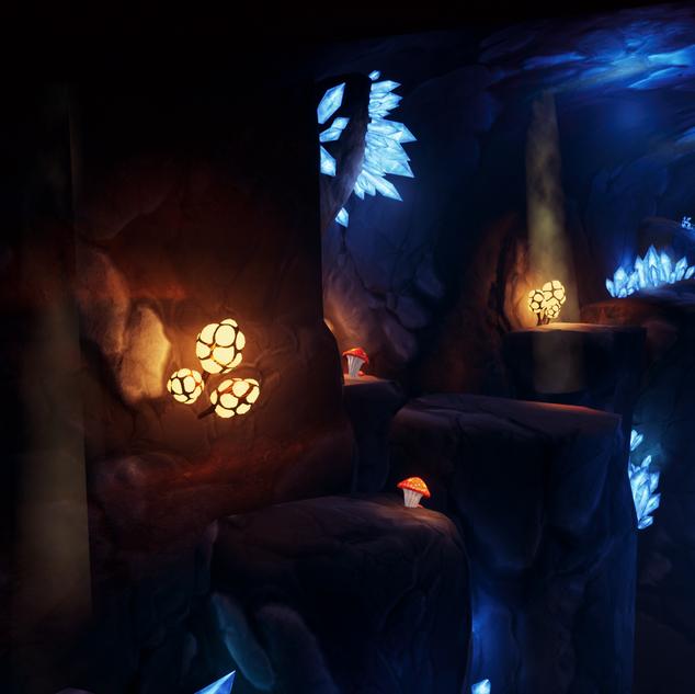 Prologue Cave, Platforming Section
