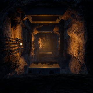 Cave, Platforming Section