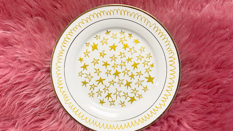 Starry Eyes Plate