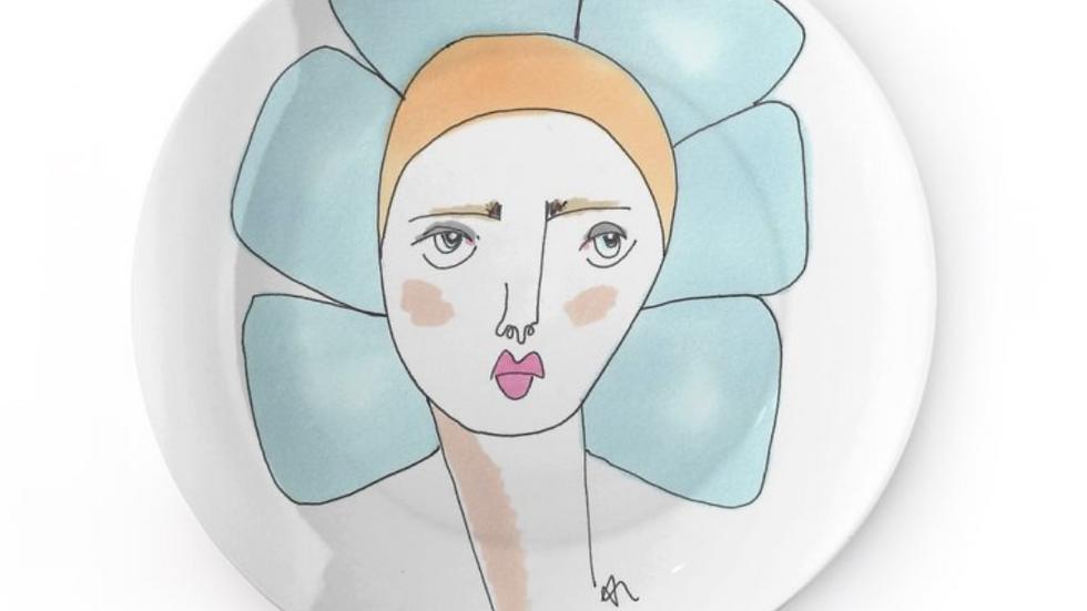 Daisy Doo China Plate