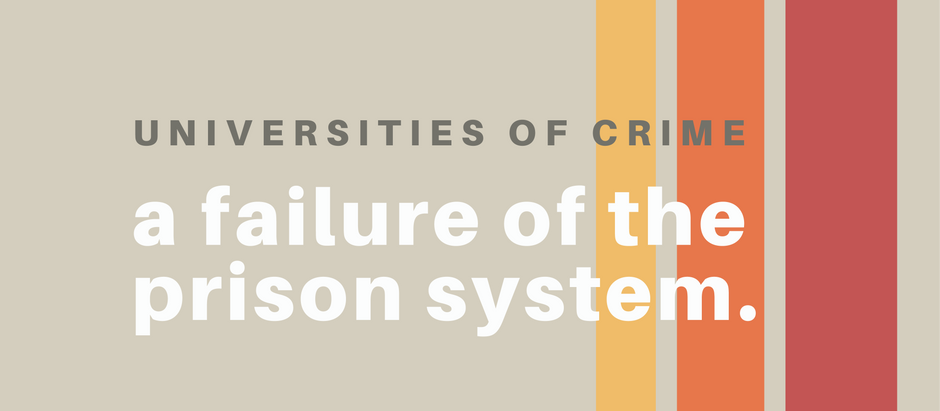Universities of Crime: A Failure of the Prison System
