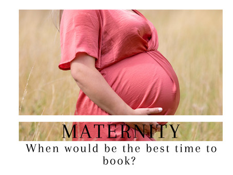 Planning your Maternity photo shoot