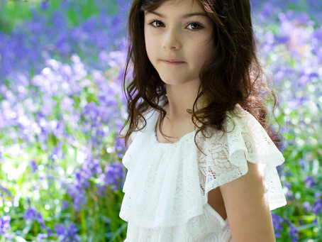 Reflections from customers on bluebell photo shoots