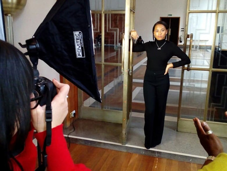 How to structure a photoshoot when photographing models & jewellery!