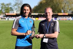 Nightingale receives PFA Award