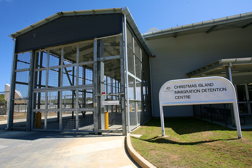 Australia Christmas Island Immigration Detention Centre