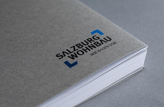 Salzburg Wohnbau - wir bauen vor, Corporate Identity, Claim, Markenversprechen, Marke, Fassade, Kampagne, Corporate Design, Brand Identity