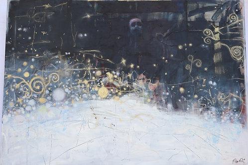 """And when life`s night came on""70 x 100 cm  Randi Kristin Strand"