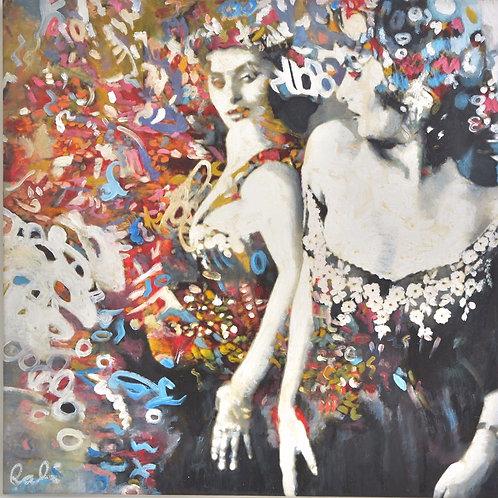 """The way you look att me""8.  50 x 50 cm Randi Kristin Strand"