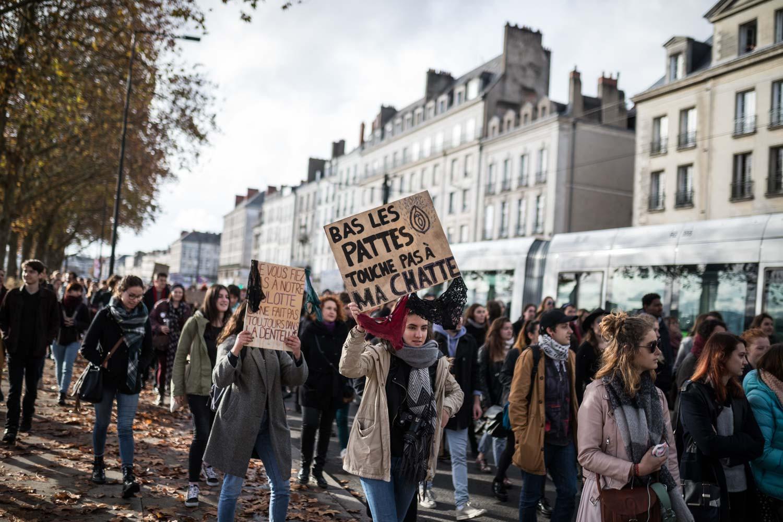 Marche contre les violences sexistes