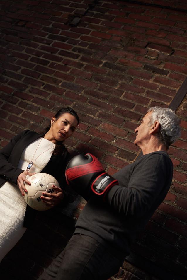 sarah et raymond pour les sportives magazine