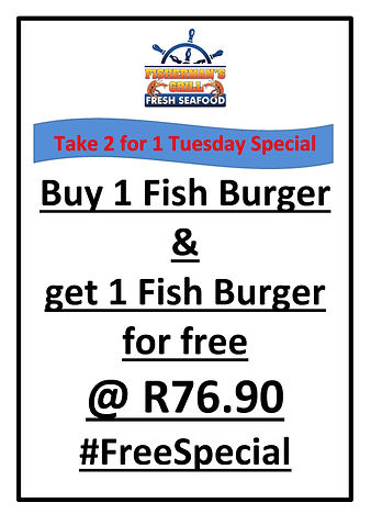 Burger Special 1 for 2 Fishermansgrill.j