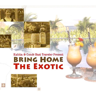 BRING HOME THE EXOTIC