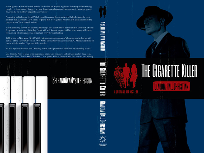 The Cigarette Killer • Claudia Hall Christian • Cover Design